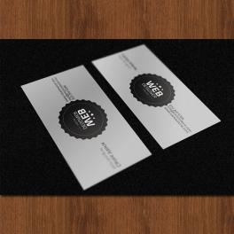 Cartes De Visite Noir Et Blanc