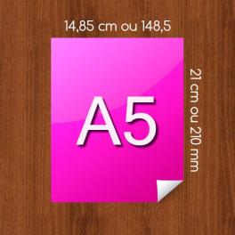 Flyer A5 sur Papier Couleur