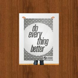 Poster format personnalisé