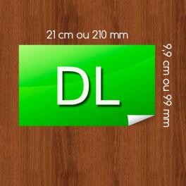 Flyer DL sur Papier Couleur